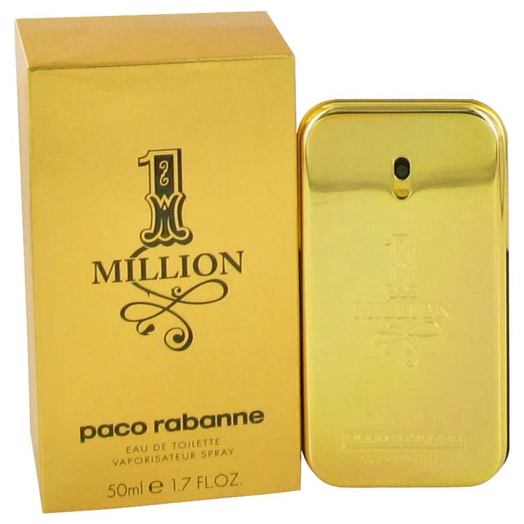 1 Million by Paco Rabanne Eau De Toilette Spray 1.7 oz (50ml)