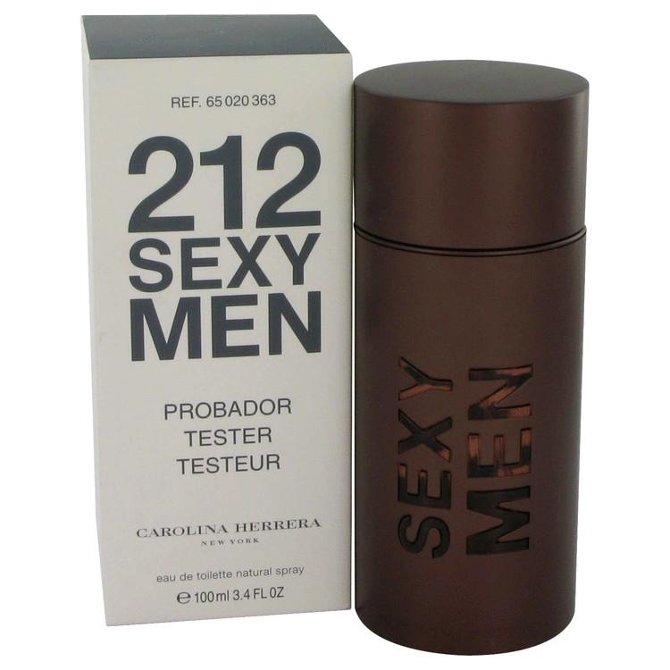212 Sexy by Carolina Herrera Eau De Toilette Spray (Tester) 3.3 oz (100ml)