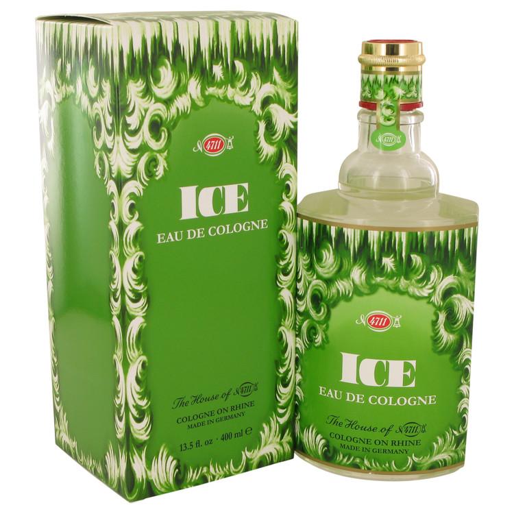 4711 Ice by Muelhens Eau De Cologne (Unisex) 13.5 oz