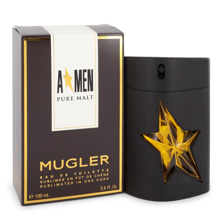 Angel Pure Malt by Thierry Mugler Eau De Toilette Spray (Limited Edition) 3.4 oz (100ml)