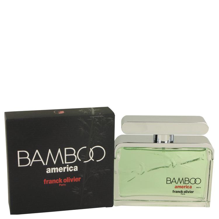 Bamboo America by Franck Olivier Eau De Toilette Spray 2.5 oz (75ml)
