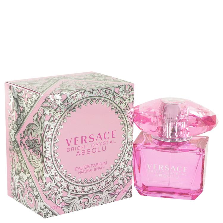 Bright Crystal Absolu by Versace Eau De Parfum Spray 3 oz (90ml)