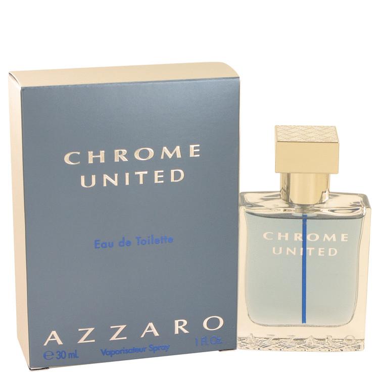 Chrome United by Azzaro Eau De Toilette Spray 1 oz (30ml)
