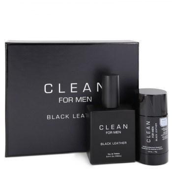 Clean Black Leather by Clean