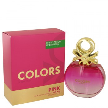 Colors Pink by Benetton for Women