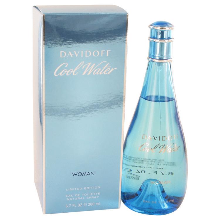 COOL WATER by Davidoff Eau De Toilette Spray 6.7 oz (200ml)