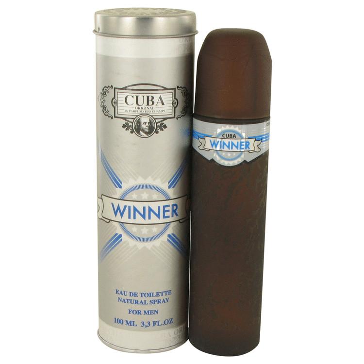 Cuba Winner by Fragluxe Eau De Toilette Spray 3.4 oz
