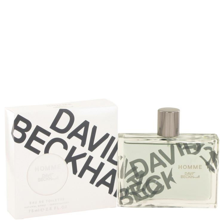 David Beckham Homme by David Beckham Eau De Toilette Spray 2.5 oz (75ml)
