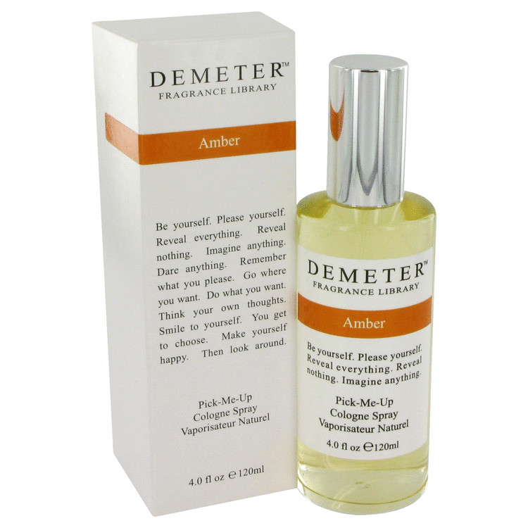 Demeter Amber by Demeter Cologne Spray 4 oz (120ml)