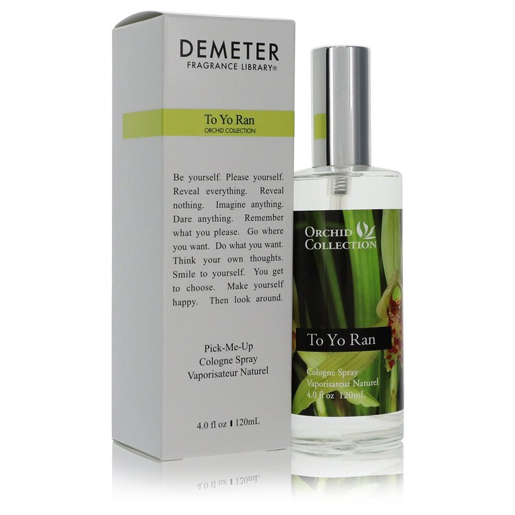 Demeter To Yo Ran Orchid by Demeter Cologne Spray (Unisex) 4 oz