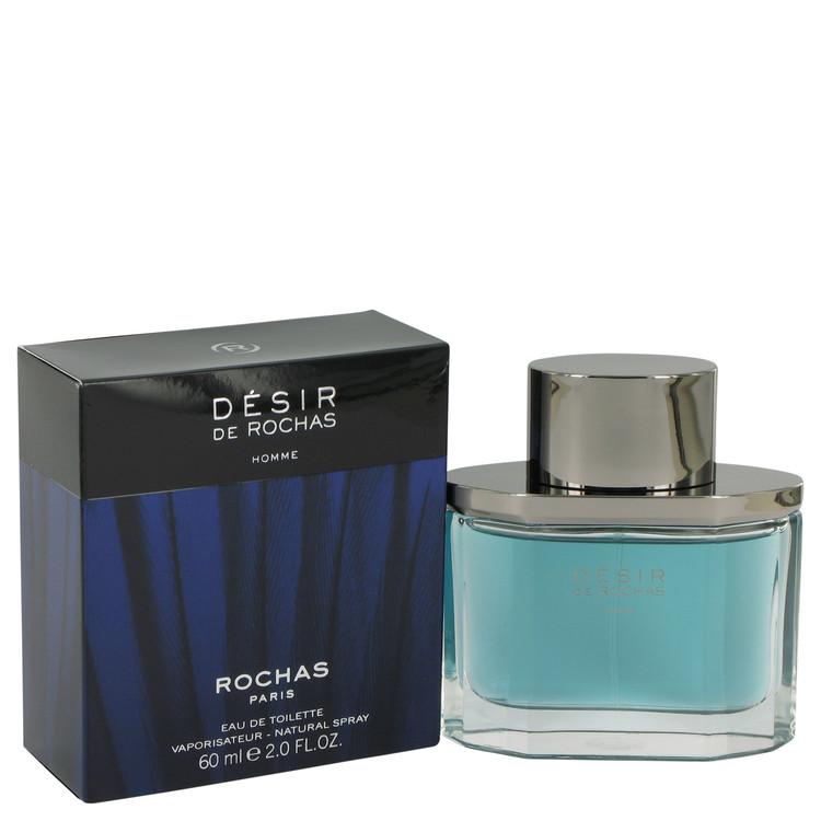 Desir De Rochas by Rochas Eau De Toilette Spray 2 oz (60ml)