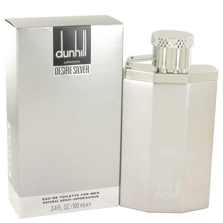 Desire Silver London by Alfred Dunhill Eau De Toilette Spray 3.4 oz (100ml)