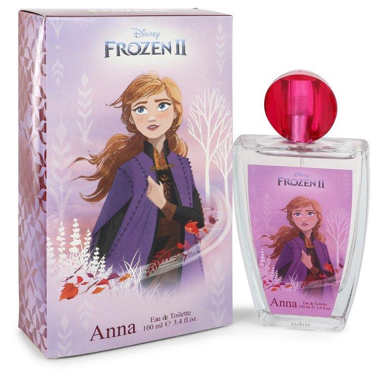 Disney Frozen II Anna by Disney Eau De Toilette Spray 3.4 oz (100ml)