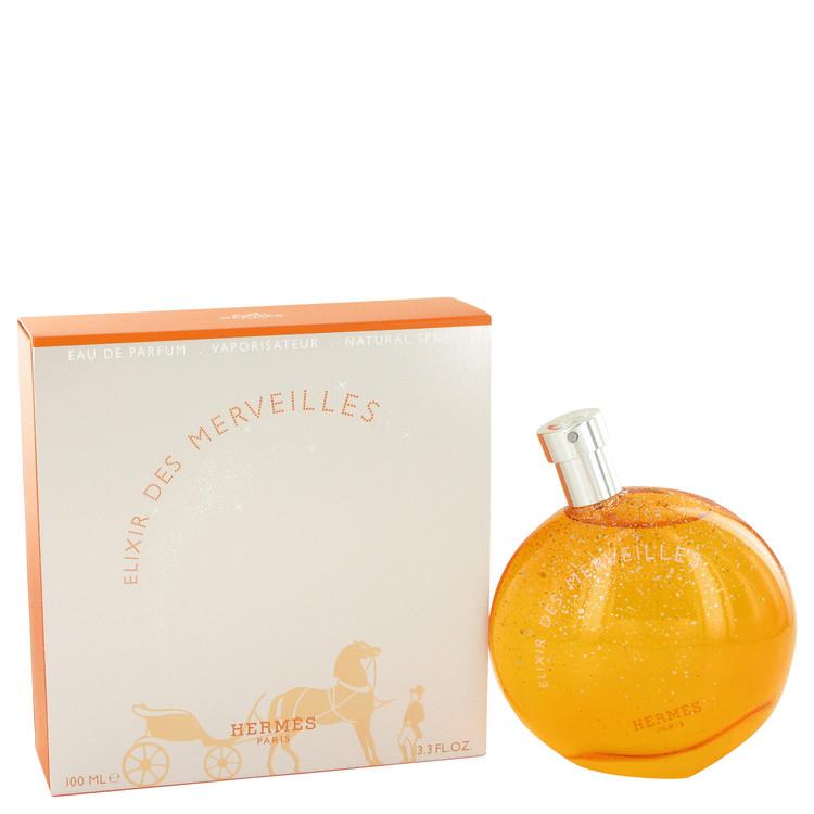 Elixir Des Merveilles by Hermes Eau De Parfum Spray 3.3 oz (100ml)
