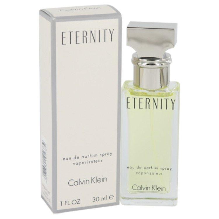ETERNITY by Calvin Klein Eau De Parfum Spray 1 oz (30ml)
