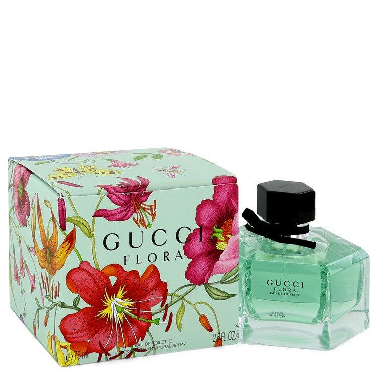 Flora by Gucci Eau De Toilette Spray 2.5 oz (75ml)
