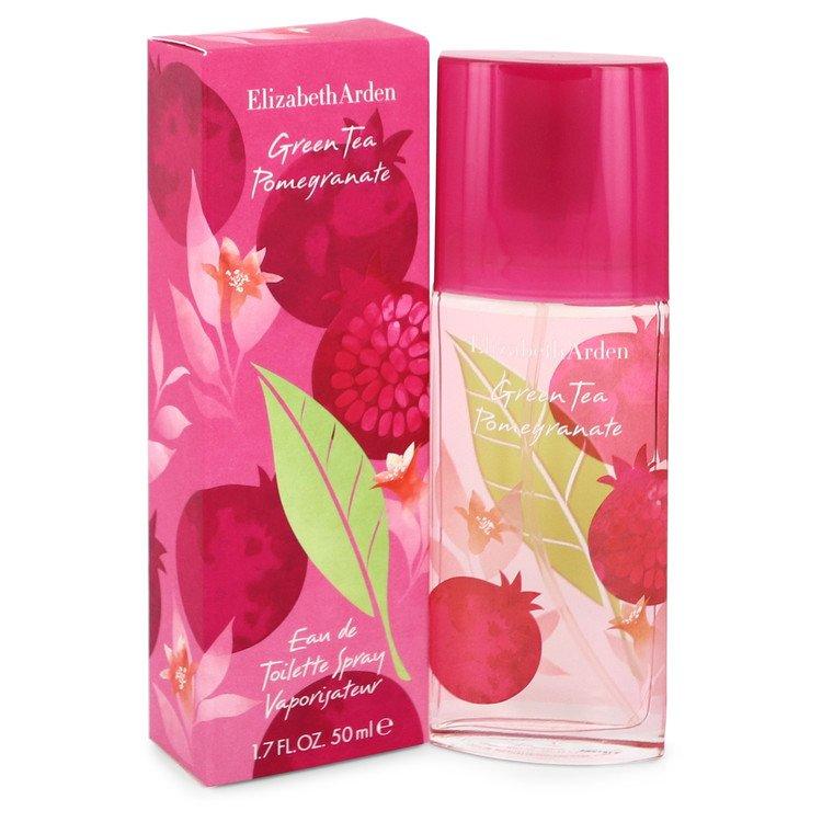 Green Tea Pomegranate by Elizabeth Arden Eau De Toilette Spray 1.7 oz (50ml)