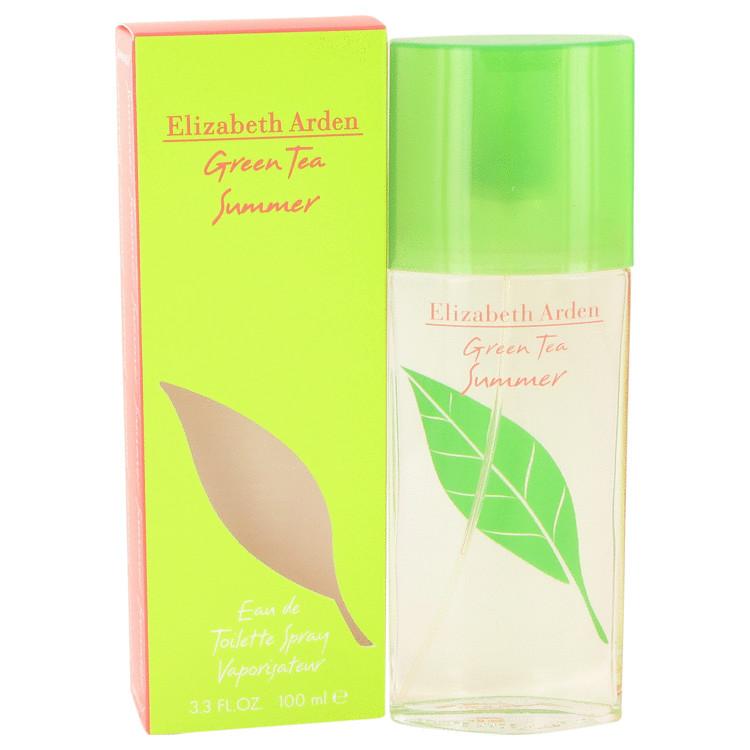 Green Tea Summer by Elizabeth Arden Eau De Toilette Spray 3.4 oz (100ml)