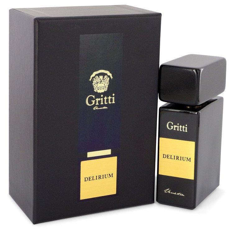 Gritti Delirium by Gritti Eau De Parfum Spray (Unisex) 3.4 oz