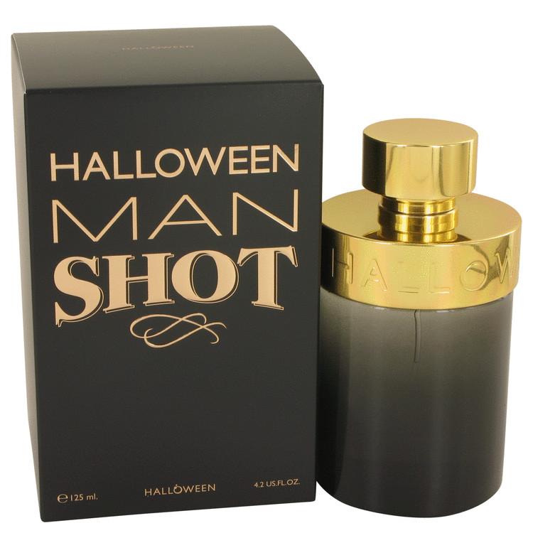 Halloween Man Shot by Jesus Del Pozo Eau De Toilette Spray 4.2 oz (125ml)