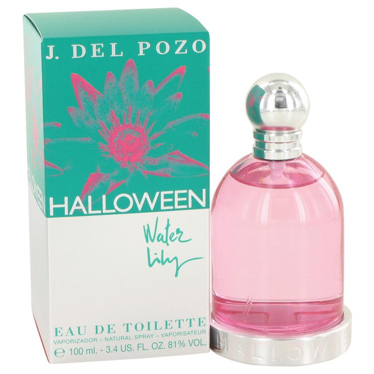 Halloween Water Lilly by Jesus Del Pozo Eau De Toilette Spray 3.4 oz (100ml)