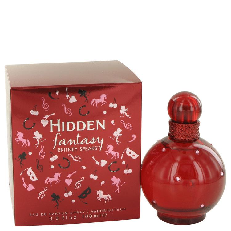 Hidden Fantasy by Britney Spears Eau De Parfum Spray 3.4 oz (100ml)