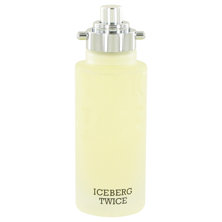 ICEBERG TWICE by Iceberg Eau De Toilette Spray (Tester) 4.2 oz (125ml)