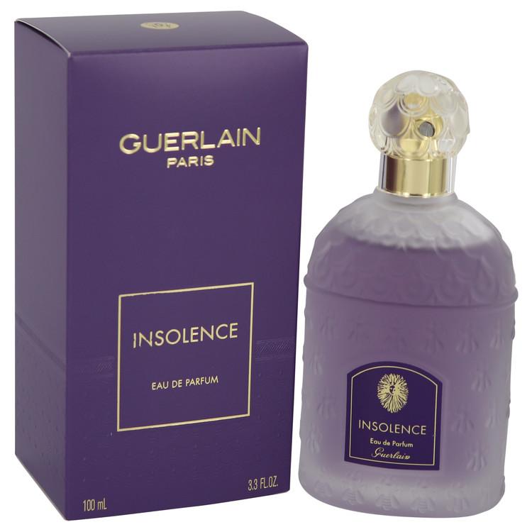 Insolence by Guerlain Eau De Parfum Spray (New Packaging) 3.3 oz (100ml)