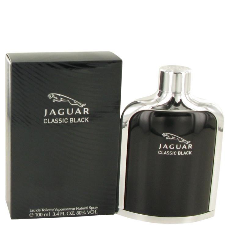 Jaguar Classic Black by Jaguar Eau De Toilette Spray 3.4 oz