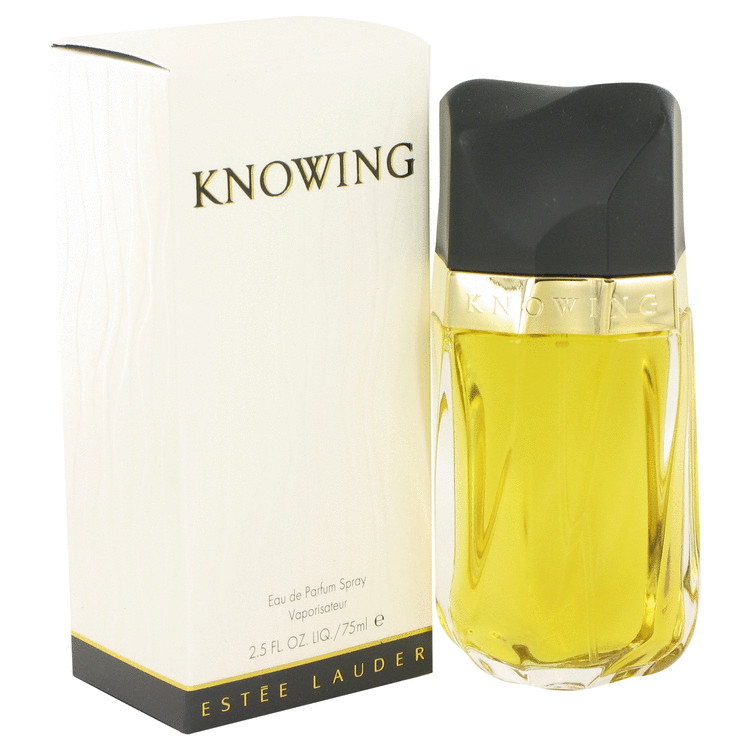 KNOWING by Estee Lauder Eau De Parfum Spray 2.5 oz (75ml)