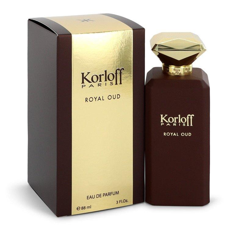 Korloff Royal Oud by Korloff Eau De Parfum Spray (Unisex) 3 oz (90ml)