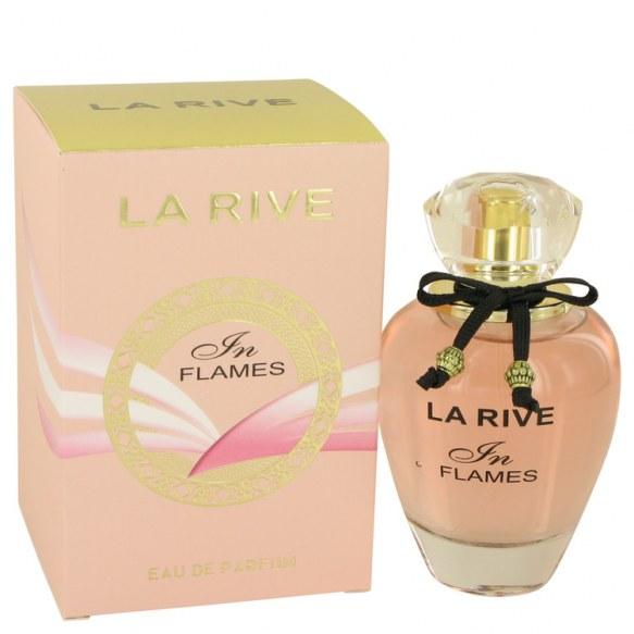 La Rive In Flames by La Rive