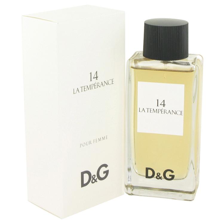 La Temperance 14 by Dolce & Gabbana Eau De Toilette Spray 3.3 oz (100ml)