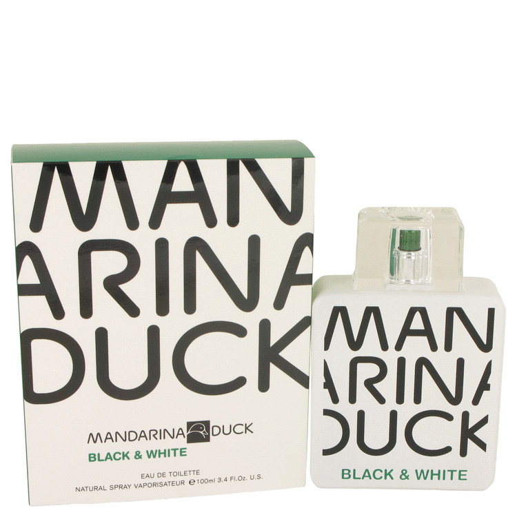 Mandarina Duck Black & White by Mandarina Duck Eau De Toilette Spray 3.4 oz (100ml)