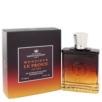 Marina De Bourbon Le Prince In Fire by Marina De Bourbon