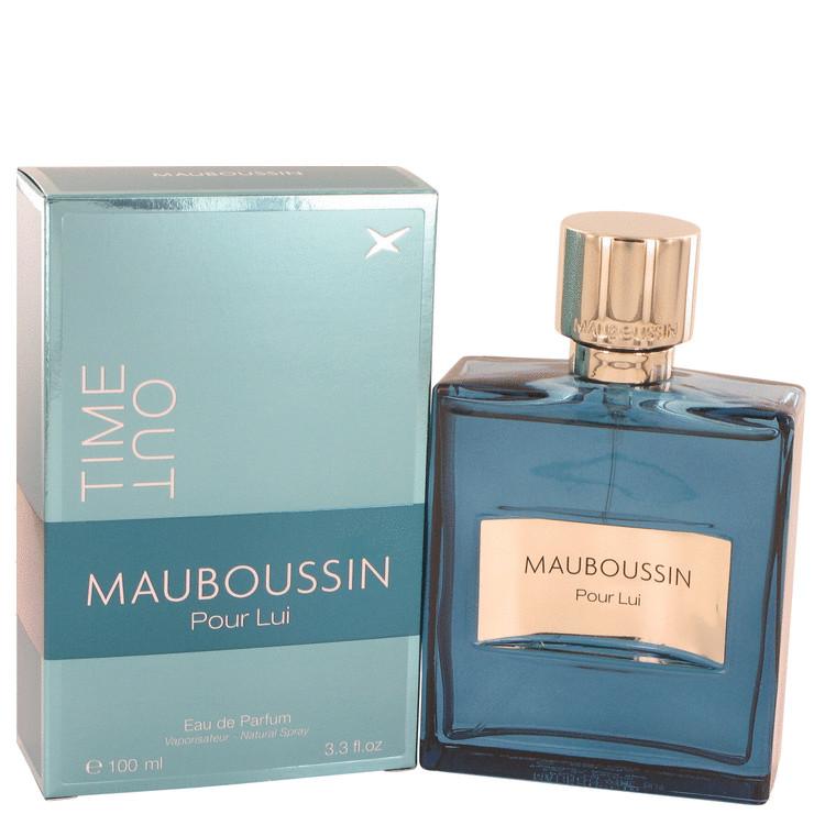 Mauboussin Pour Lui Time Out by Mauboussin Eau De Parfum Spray 3.4 oz (100ml)