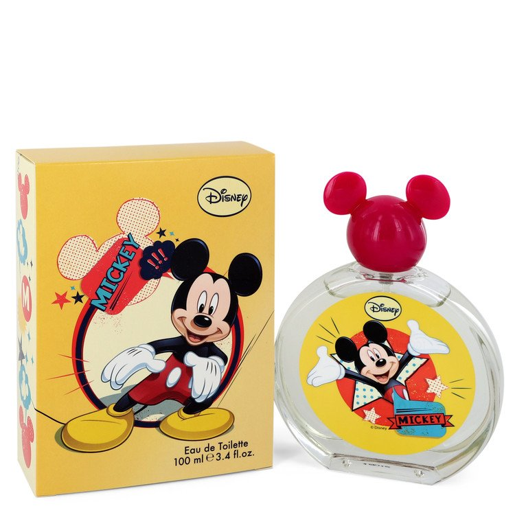 MICKEY Mouse by Disney Eau De Toilette Spray (Packaging may vary) 3.4 oz (100ml)