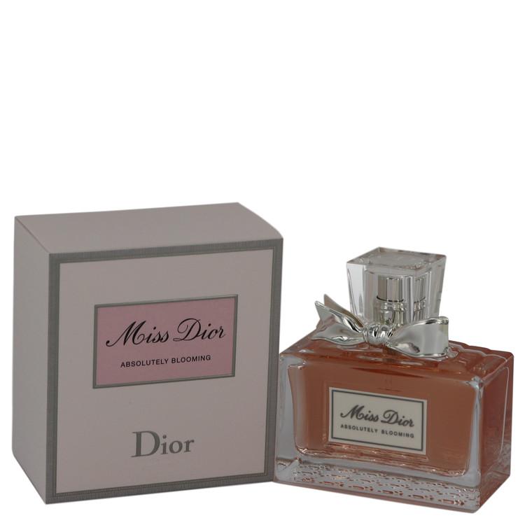 Miss Dior Absolutely Blooming by Christian Dior Eau De Parfum Spray 1.7 oz (50ml)