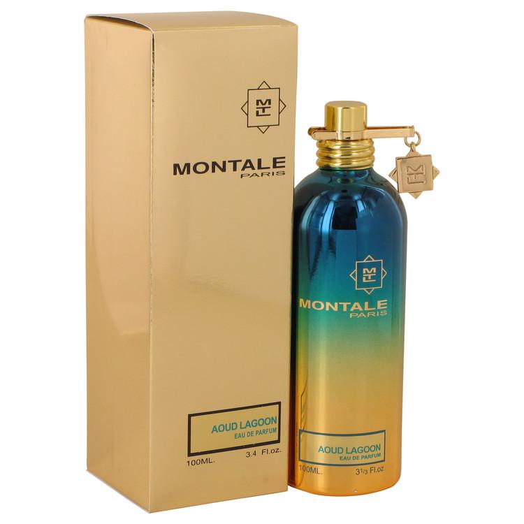 Montale Aoud Lagoon by Montale Eau De Parfum Spray (Unisex) 3.4 oz