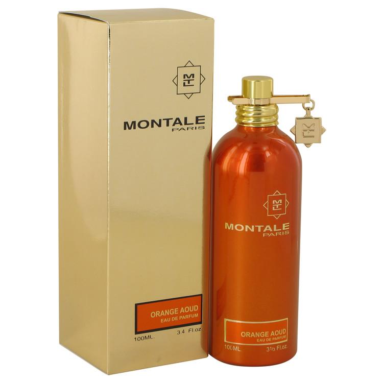 Montale Orange Aoud by Montale Eau De Parfum Spray (Unisex) 3.4 oz (100ml)