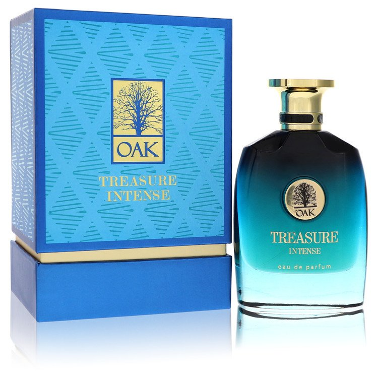 Oak Treasure Intense by Oak Eau De Parfum Spray (Unisex) 3 oz