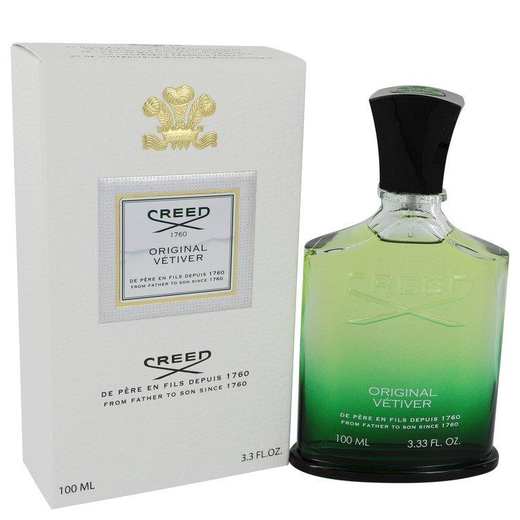 Original Vetiver by Creed Eau De Parfum Spray 3.3 oz (100ml)