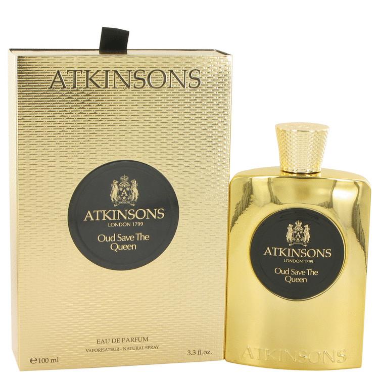 Oud Save The Queen by Atkinsons Eau De Parfum Spray 3.3 oz (100ml)