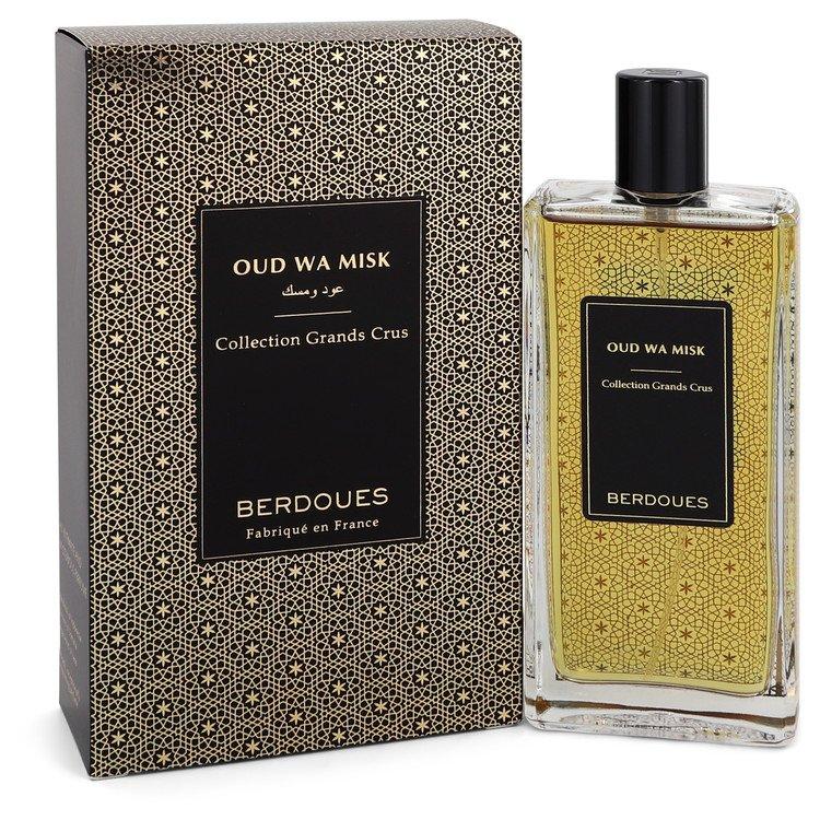 Oud Wa Misk by Berdoues Eau De Parfum Spray (Unisex) 3.38 oz