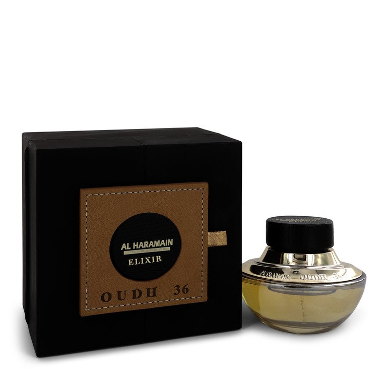 Oudh 36 Elixir by Al Haramain Eau De Parfum Spray (Unisex) 2.5 oz (75ml)