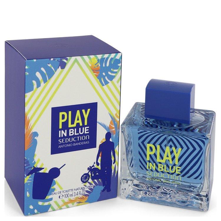 Play in Blue Seduction by Antonio Banderas