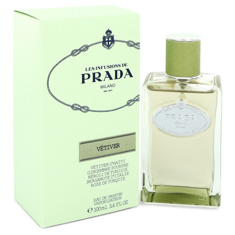 Prada Infusion De Vetiver by Prada Eau De Parfum Spray 3.4 oz (100ml)