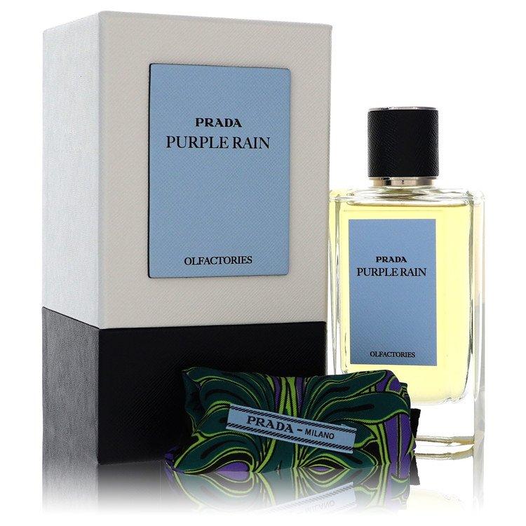 Prada Olfactories Purple Rain by Prada Eau De Parfum Spray with Gift Pouch (Unisex) 3.4 oz
