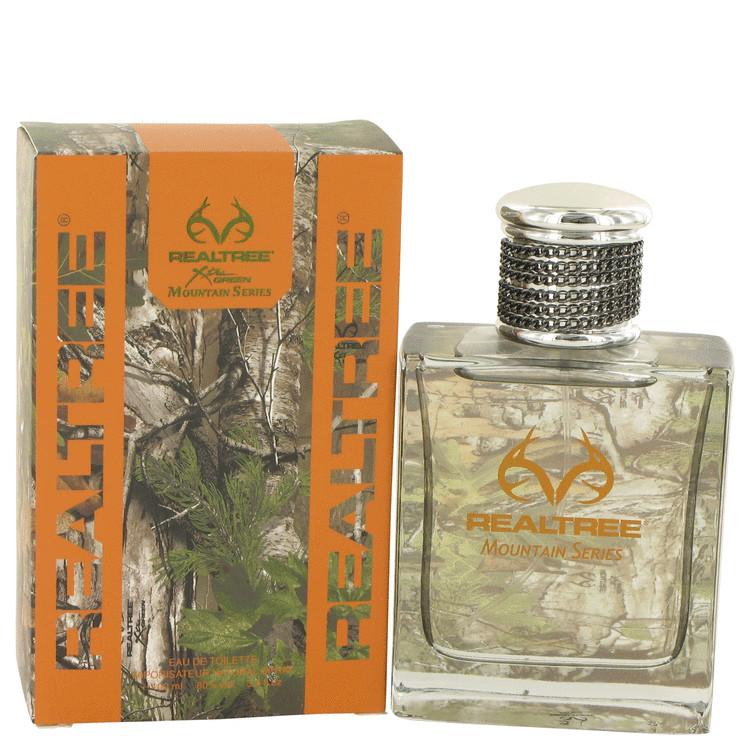 Realtree Mountain Series by Jordan Outdoor Eau De Toilette Spray 3.4 oz (100ml)