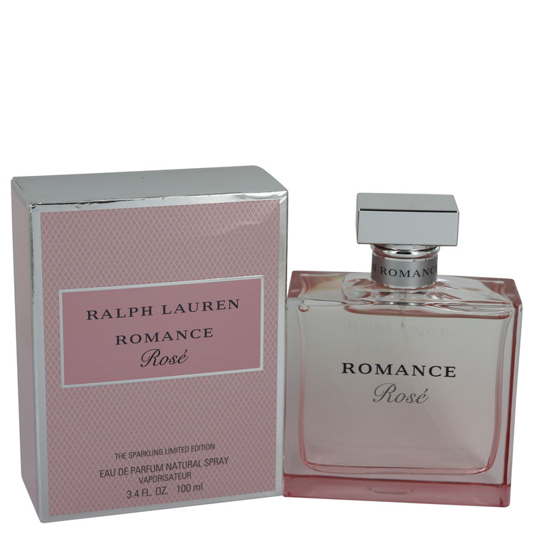 Romance Rose by Ralph Lauren Eau De Parfum Spray 3.4 oz (100ml)